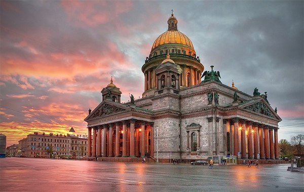 View to Saint Isaac%27s Cathedral by Ivan Smelov