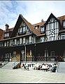 Villa Crombez , nu Kindervreugde, gevel Albert I laan - gedeeltelijk zicht - 354415 - onroerenderfgoed.jpg