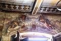 Villa Guicciardini-Majnoni di Vico d'elsa, interno, androne barocco con affreschi attr. ad agostino tassi, 08.jpg