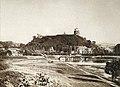 Vilnia, Vialla-Zamkavaja hara. Вільня, Вяльля-Замкавая гара (V. Zacharčyk, 1865-79).jpg