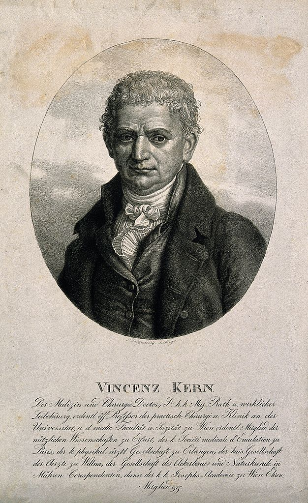 File Vincenz Sebastian Ritter Von Kern Lithograph By K Lanzede Wellcome V0003210 Jpg Wikimedia Commons