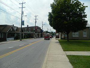 Petersburg, West Virginia - Virginia Avenue in Petersburg