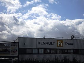 Renault f1 wikipedie for Garage renault viry chatillon