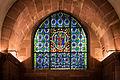 Vitrail chœur crypte Cathédrale Notre-Dame de Strasbourg nov 2014.jpg