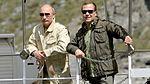Vladimir Putin and Dmitry Medvedev 20 July 2013 01.jpg