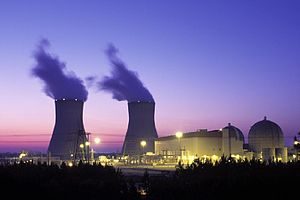 English: Alvin Ward Vogtle Nuclear Power PLant...