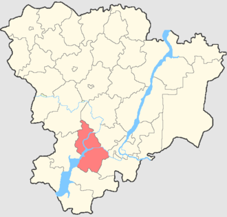 Kalachyovsky District - Image: Volgogradskaya oblast Kalachovsky rayon