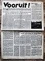 "Voorpagina Vlaams Socialistisch dagblad ""Vooruit"" 19 januari 1943.jpg"