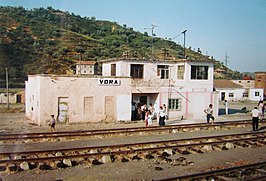 Station van Vorë in 1995