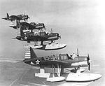Vought OS2U Kingfishers in flight c1942.jpg