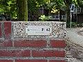Vriendenbrug - Rotterdam - Number plate.jpg