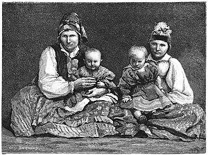 Doukhobors - Doukhobor women, 1887