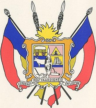 Nieuwe Republiek - Image: Vryheid wapen