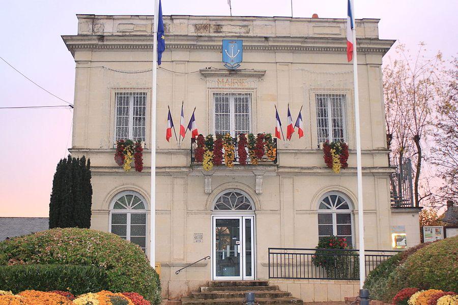 Mairie de Saint-Lambert-des-Levées, Fr-49-Saumur.