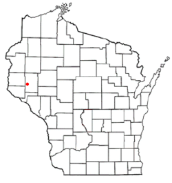 Location of Lucas, Wisconsin