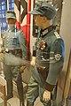 WW2 Norway. Polizeioberwachtmeister der Schutzpolizei; Hauptmann der SP; Norw. police major (politikommandør) 1942; Norw. SS- Rottenführer etc Justismuseet Trondheim 2019 3145.jpg