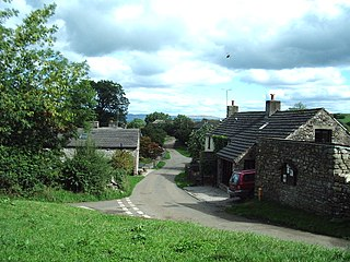 Waitby village in the United Kingdom
