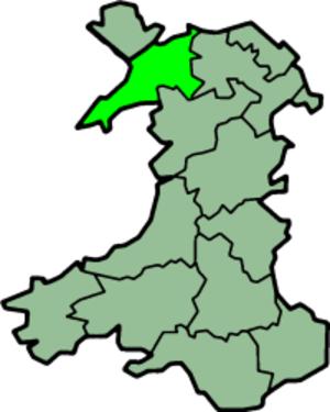 Caernarfonshire - Image: Wales Caernarfonshire Trad
