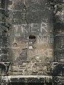 Wall Porta Nigra with graffiti.JPG