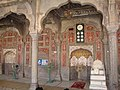 Walls decoration in Shahi Mosque prayer hall.jpg