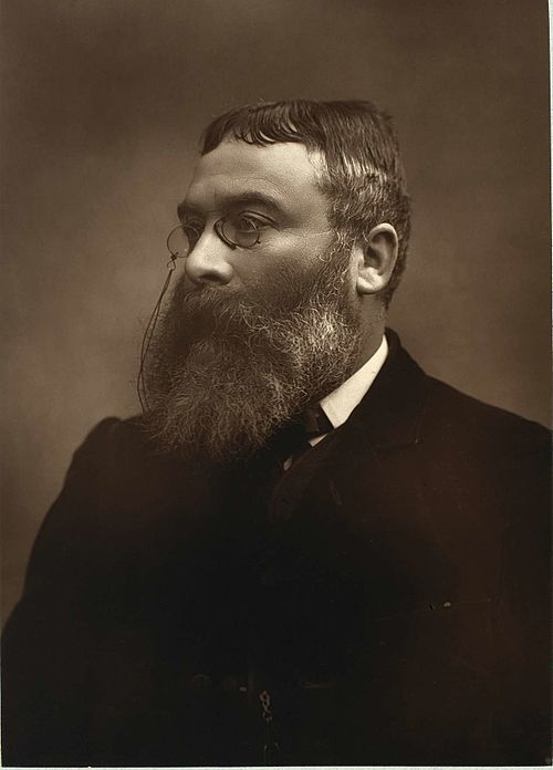 Walter besant by barraud c1880s