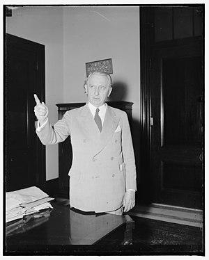Walter F. George - Senator Walter George in 1938