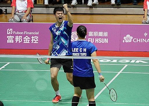 Wang Chi-Lin, Lee Chia-Hsin at 2017 Universiade