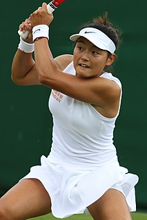 Wang Yafan Chinese`tennis player