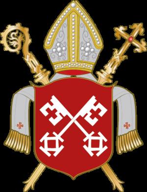 Bishopric of Minden - Image: Wappen Bistum Minden