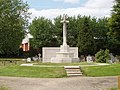 War memorial, Acton Cemetery - geograph.org.uk - 177864.jpg