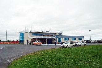 Watertown International Airport - Image: Watertown (New York) International Airport August 2018