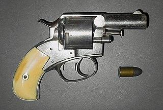 British Bull Dog revolver 19th-century gate-loading, double-action revolver