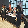 WecanLive ACG Carnival streamers at Ajo's booth 20190413.jpg
