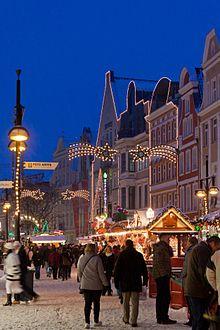 Weihnachtsmarkt In Rostock.Rostocker Weihnachtsmarkt Wikipedia