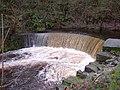 Weir on the River Colne, Linthwaite - Golcar - geograph.org.uk - 628628.jpg