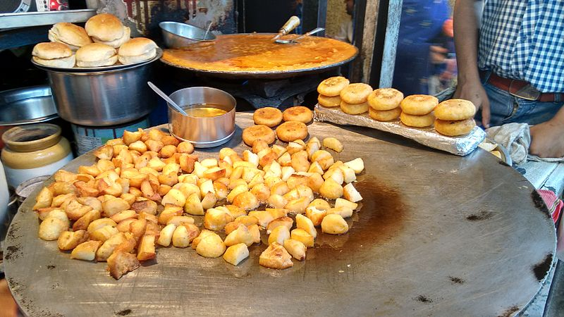Tikkis and other street food in Delhi