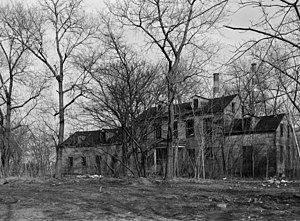 Blackwell House - Image: Welfare Island, Farmhouse, New York (New York County, New York)