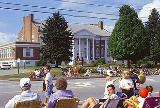 Wells, Maine - Wells Junior High School (built in 1937 as the third Wells High School).