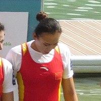 Wenjing Cheng Bronze 2015 - World Championships.JPG