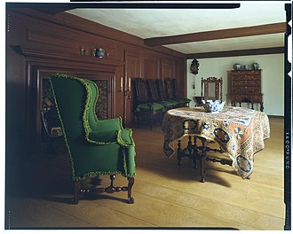 John Wentworth (lieutenant governor, born 1671) - Interior of the John Wentworth house, now in the Metropolitan Museum of Art in New York City.