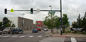 West Colfax, Denver - A view of West Colfax Avenue and the West Colfax Neighborhood.