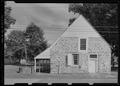 West Elevation - Bevier-Elting House, Hugenot Street and Broadhead Avenue, New Paltz, Ulster County, NY HABS NY,56-NEWP,2-7.tif