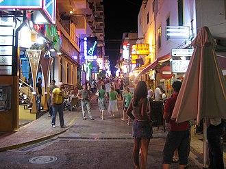 Ibiza - Sant Antoni, West End
