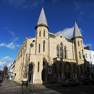 Westbourne Grove - Westbourne Grove Church (2009)