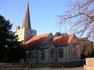 Westbourne, West Sussex - Image: Westbourne church