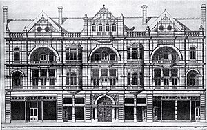 Michael Hart (mayor) - White Hart Hotel, 1902 proposed design