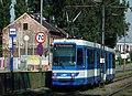 Wielicka Street in Krakow, tram (2).jpg