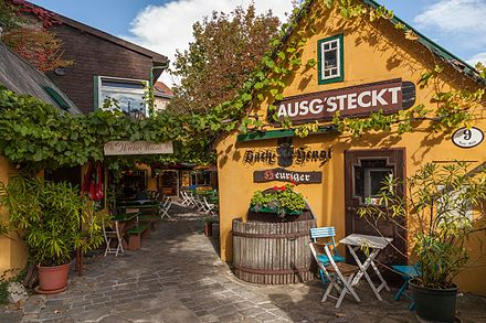 A typical Heurigen-Restaurant in Grinzing Wien Heurigen-Lokal 2014 1.jpg