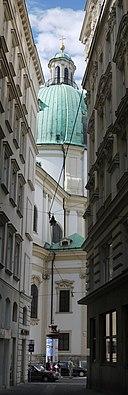 Wien Peterskirche Rückseite