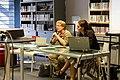 WikiPermanence à la bibliothèque des Champs Libres, septembre 2014-2.jpg